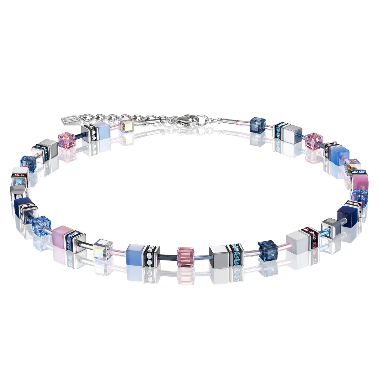 Collier GeoCUBE® blau-rosa 2839100719