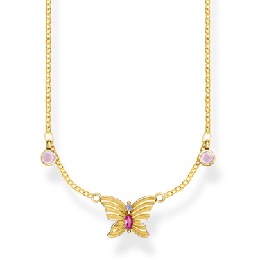Kette Schmetterling gold KE1951-488-7
