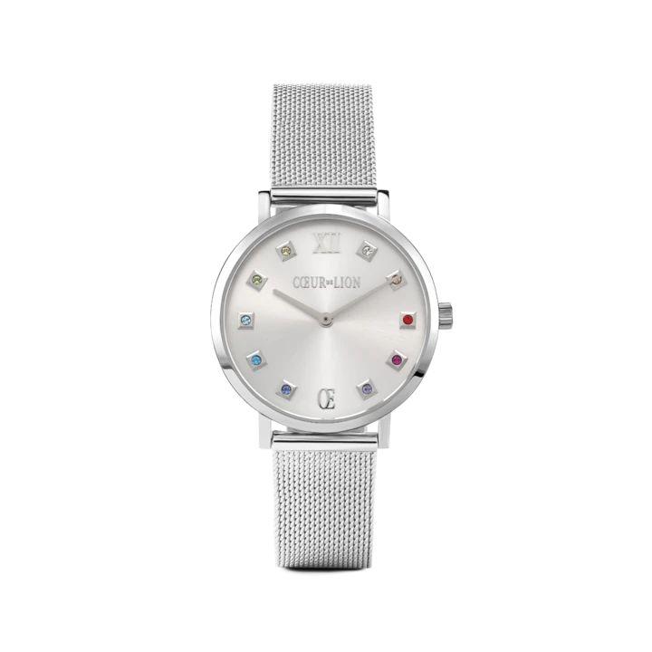 Uhr Rund Silver Sunray 7610701717