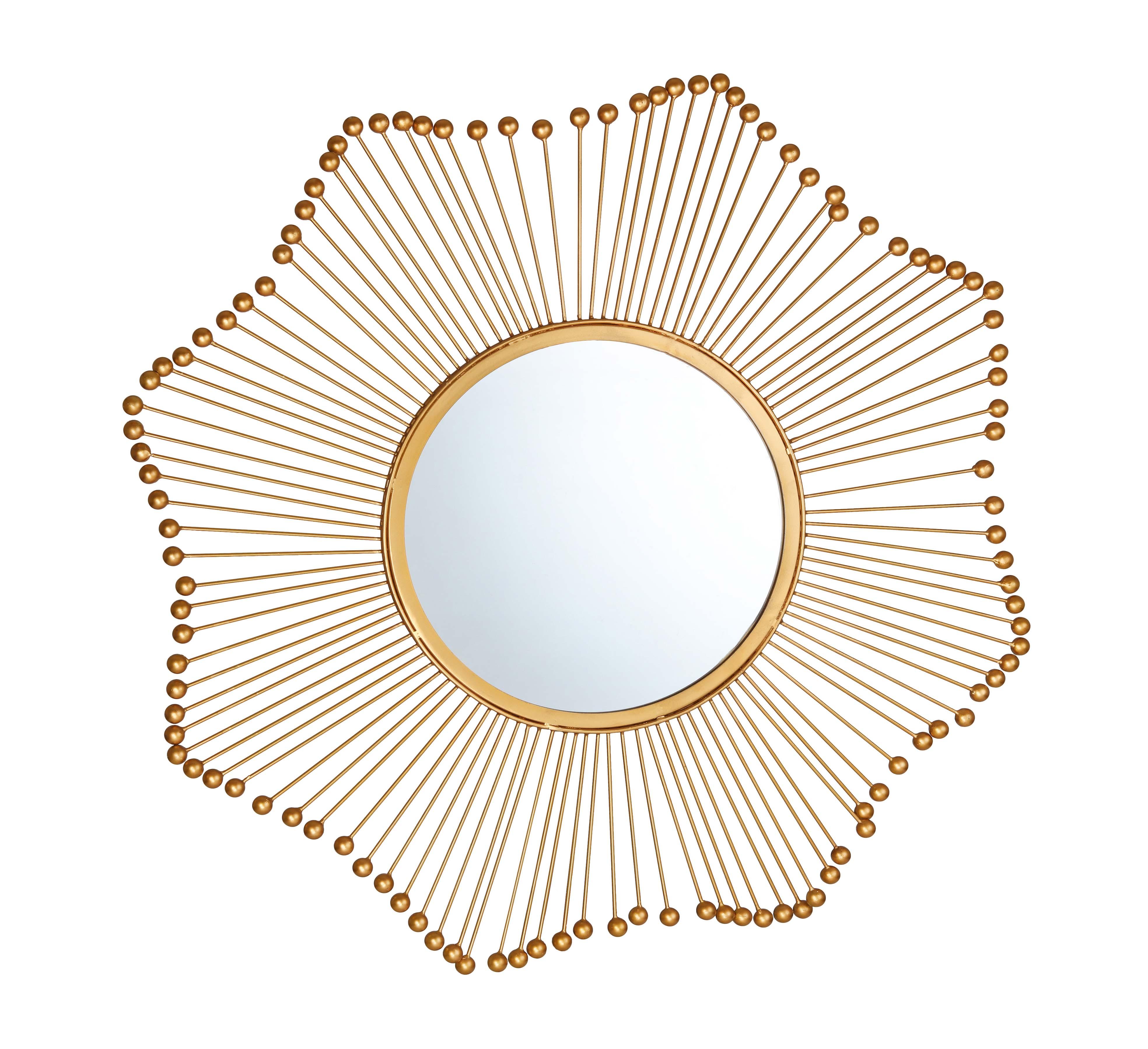 Sol Gold Mirror