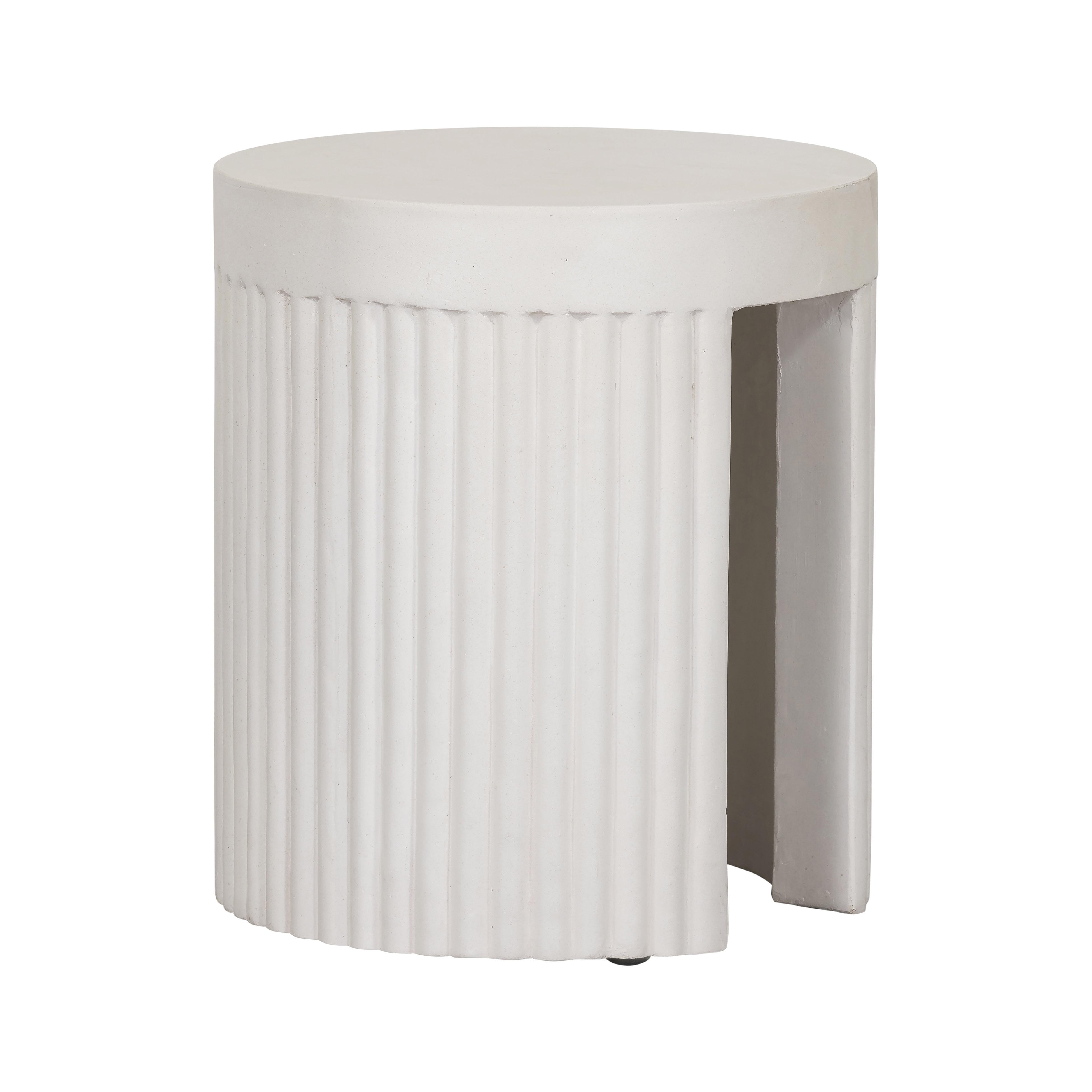Crest Concrete Side Table