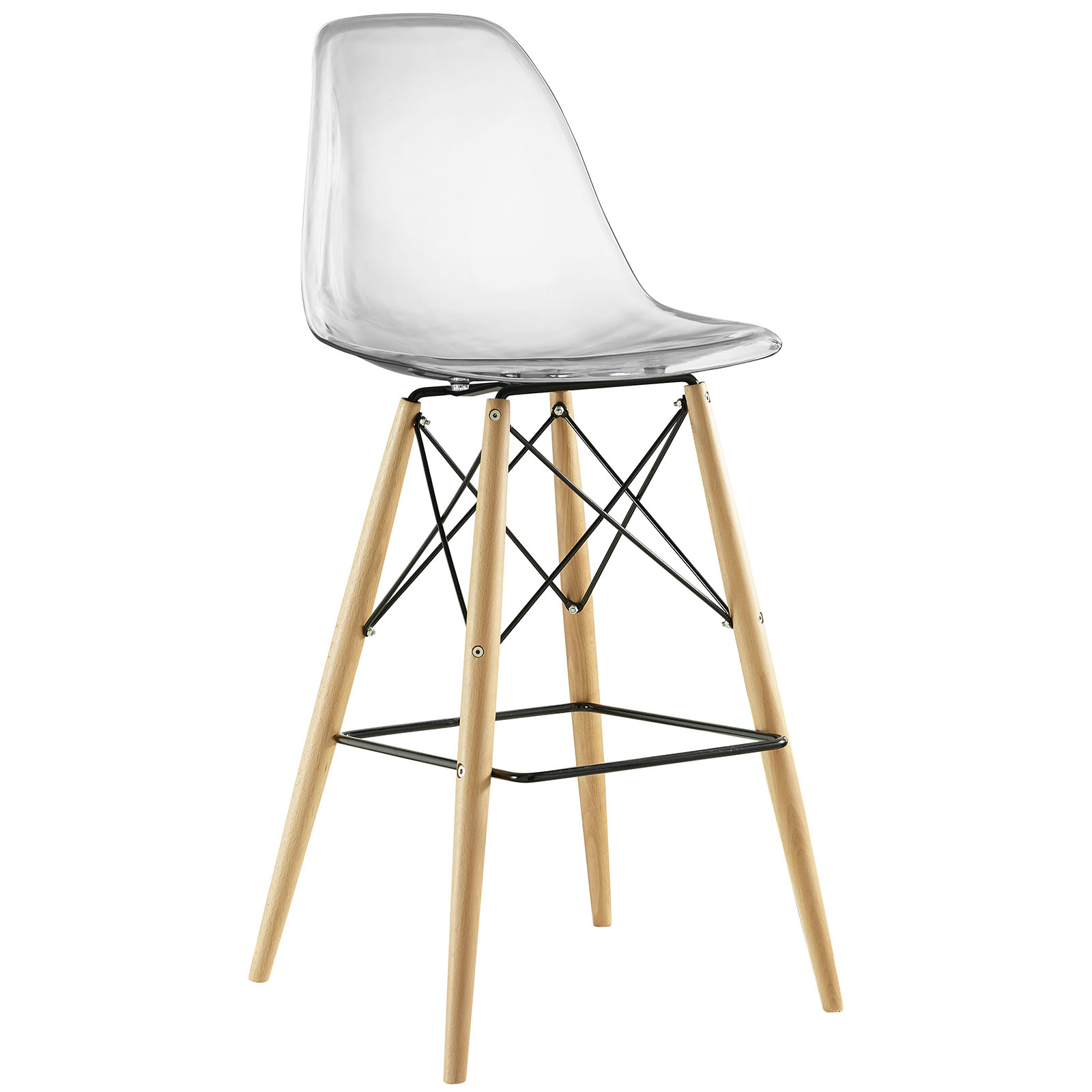 Cairo Bar Stool - Clear