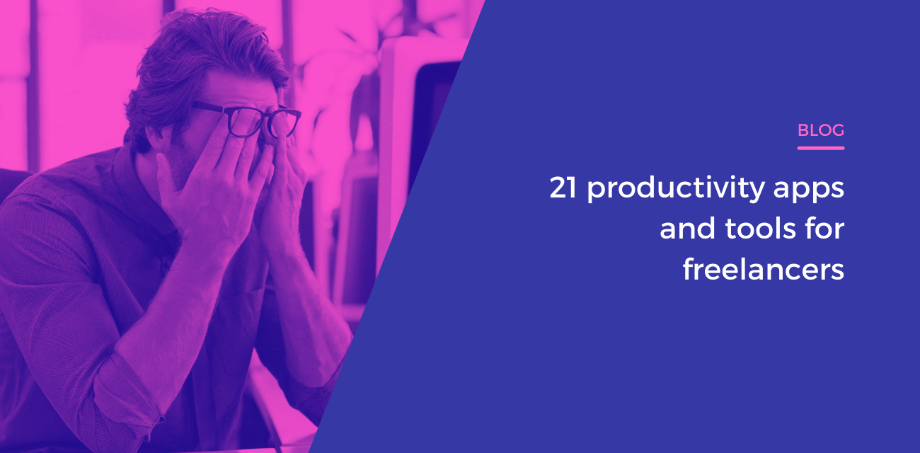 21 productivity apps and tools for freelancers
