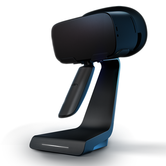 Eden Snacker VR Stand Project NOA Labs