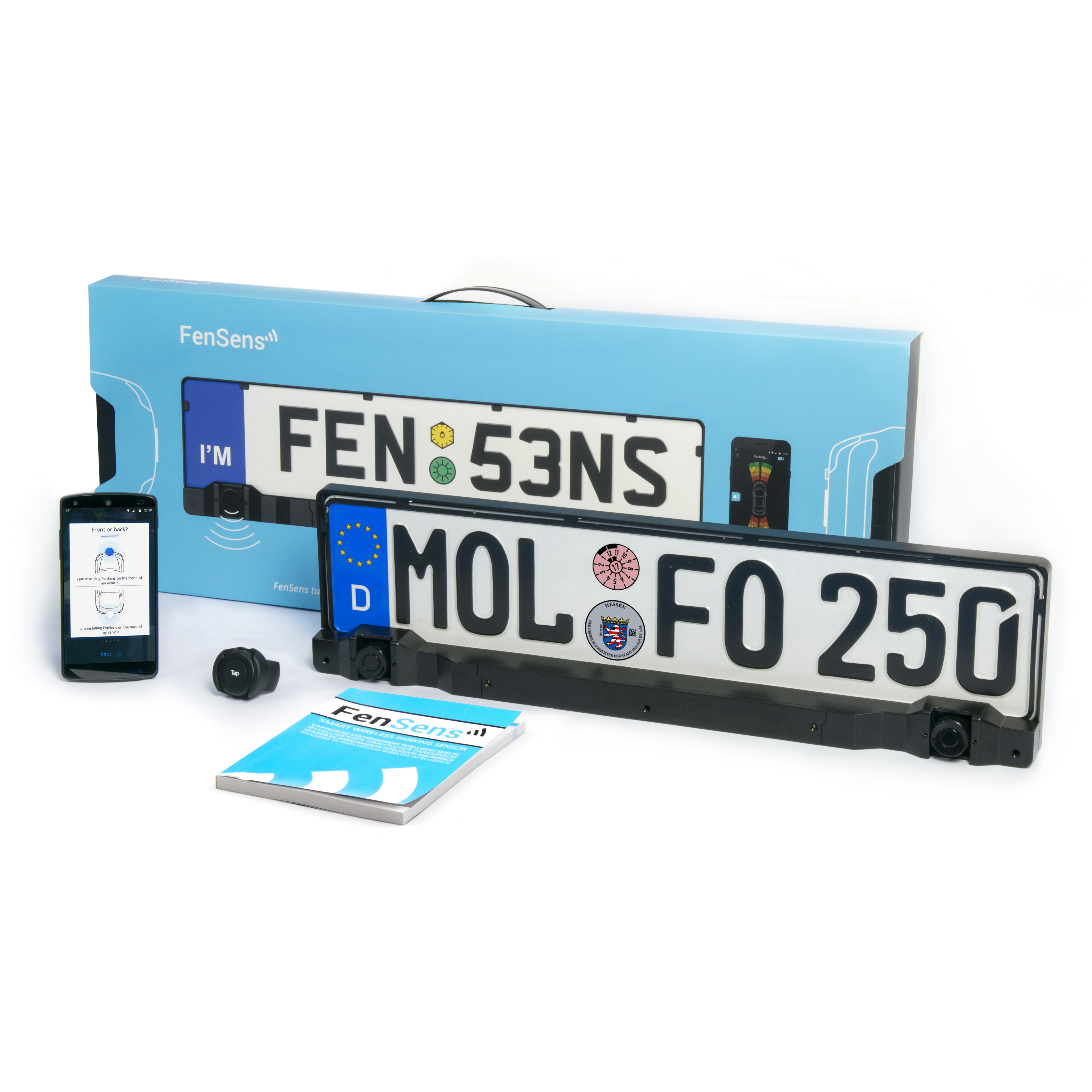 FenSens EU Version Smart Wireless Parking Project NOA Labs