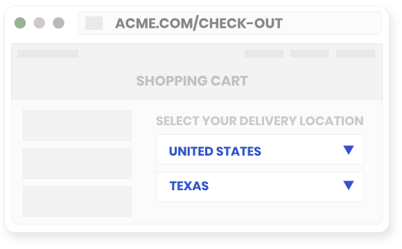 Autofill form elements with IP geolocation data