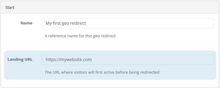 Shopify geo redirect