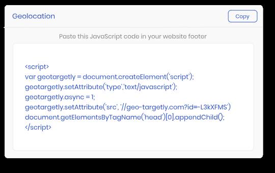 Easy-to-use IP geolocation API web service