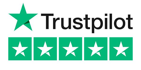 Trust Pilot Logo 5 star