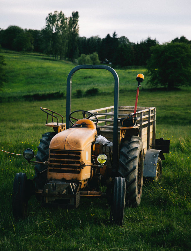 Creuse tractor