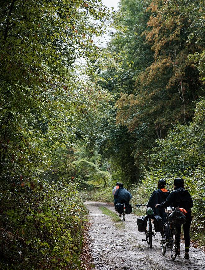 morvan - vélo - cyclistes à l'aventure