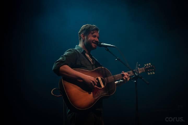 Dan Mangan live at the Danforth Music Hall in Toronto, on Jan. 19, 2019.