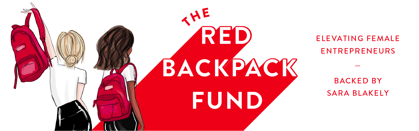 Spanx by Sara Blakely Red Backpack Fund