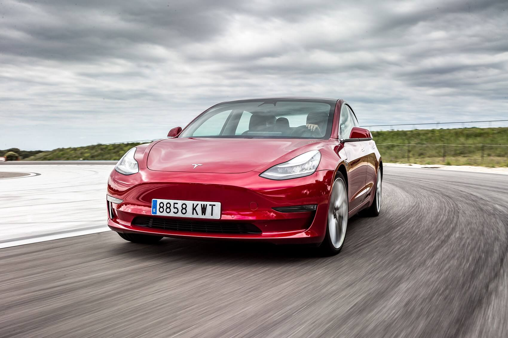 Tesla is leading the UK's electric car sales