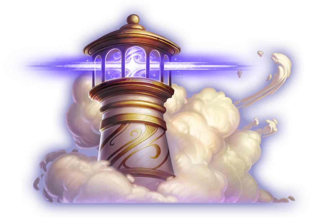 Dreamhaven Lighthouse Illustration