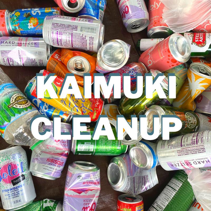 Kaimuki Cleanup & 10th Anniversary