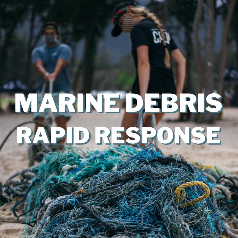 Marine Debris Rapid Response
