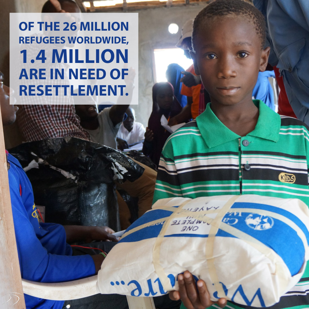 1.4m people are in need of resettlement