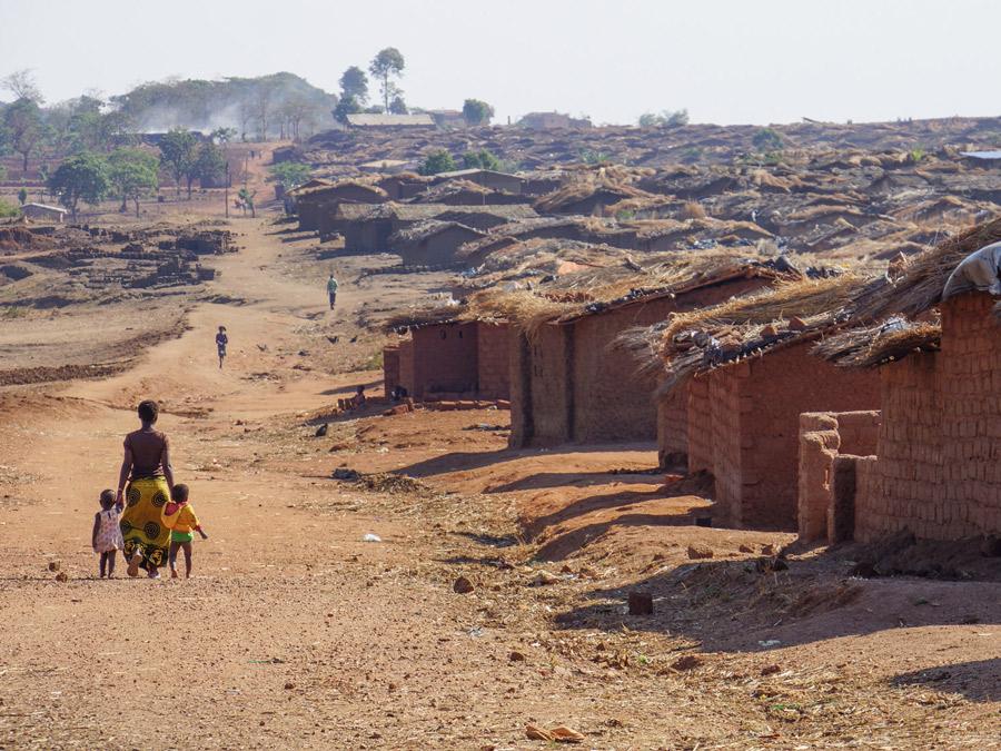 Dzaleka refugee camp, Malawi. Photographer: T.Albinson
