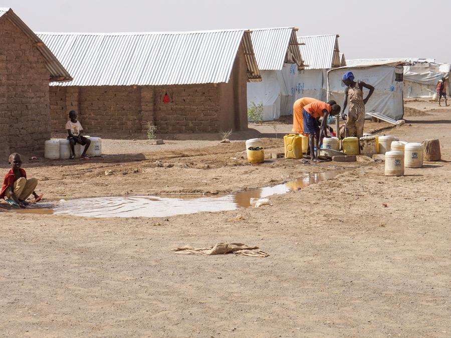 Kakuma refugee camp, Kenya. Photographer: T.Albinson