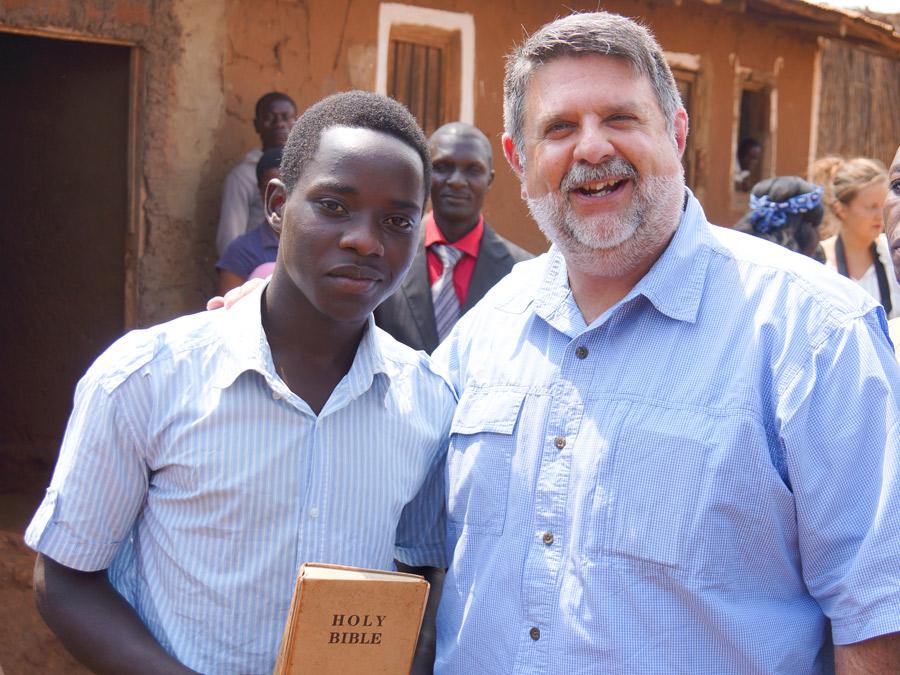IAFR's Tim Barnes in Dzaleka