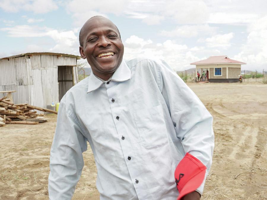 Nicholas Gagai in Kakuma
