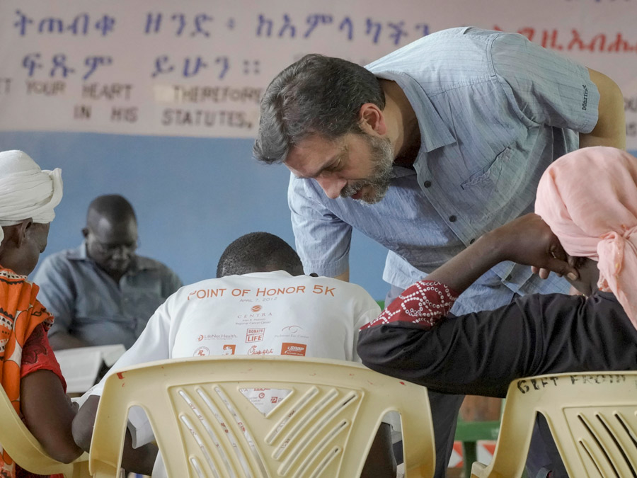 Theological training in Kakuma with Dr. Kalantzis