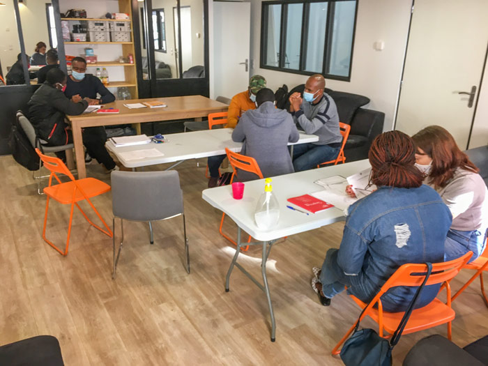 French language class in the Lille Centre