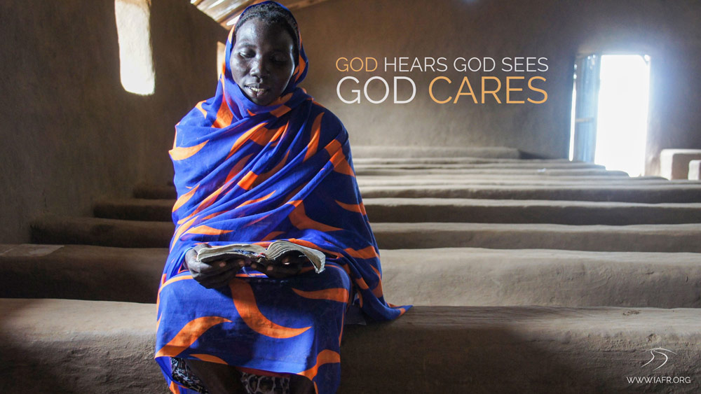 God sees, hears and cares