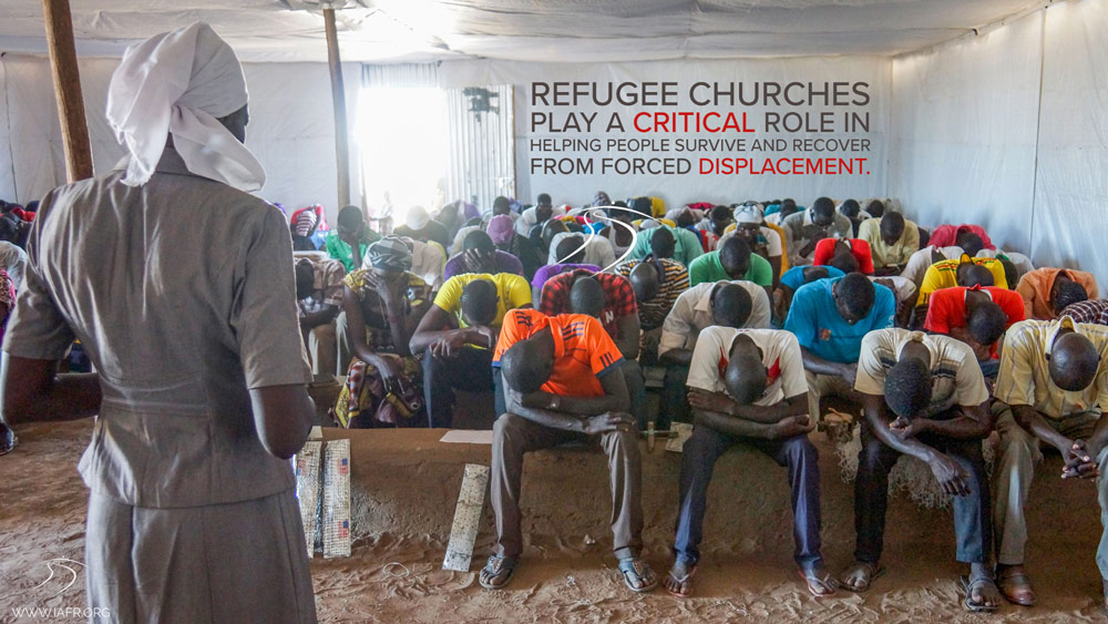 Refugee churches play an important role in survival and recovery