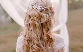 Bridal Styling | bridal hairstyle