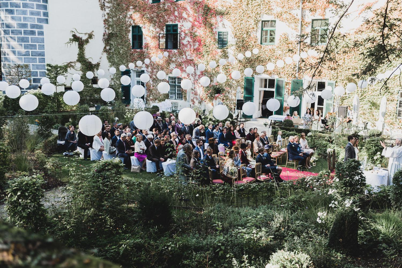 Место проведения свадьбы Schloss Ernegg