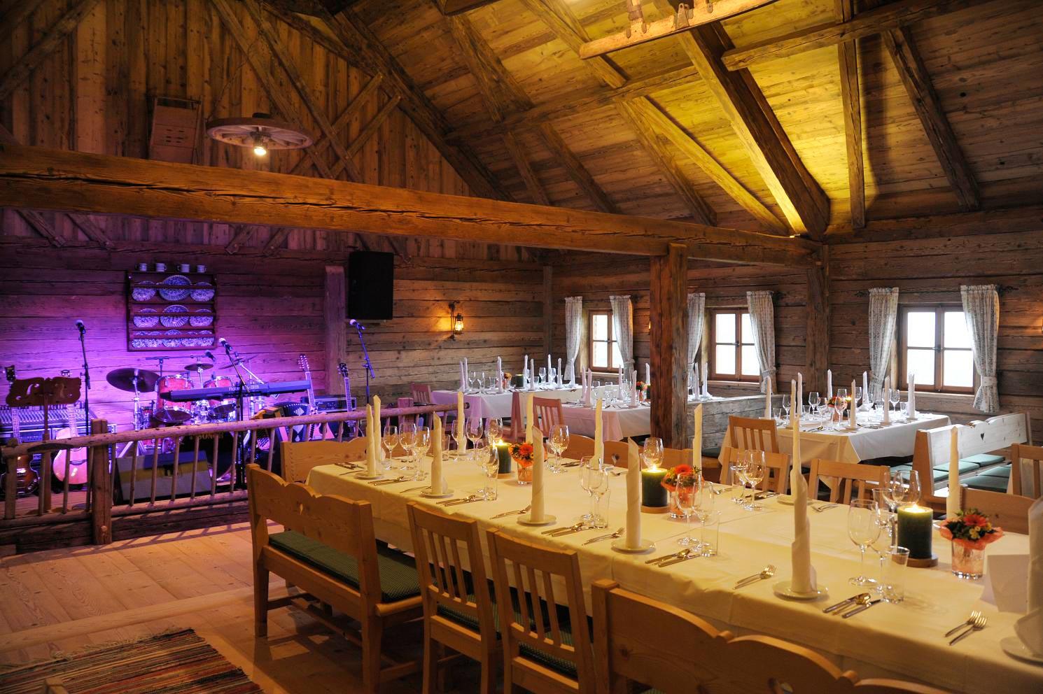 Hochzeitslocations Laimeralm & Laimer Urschlag
