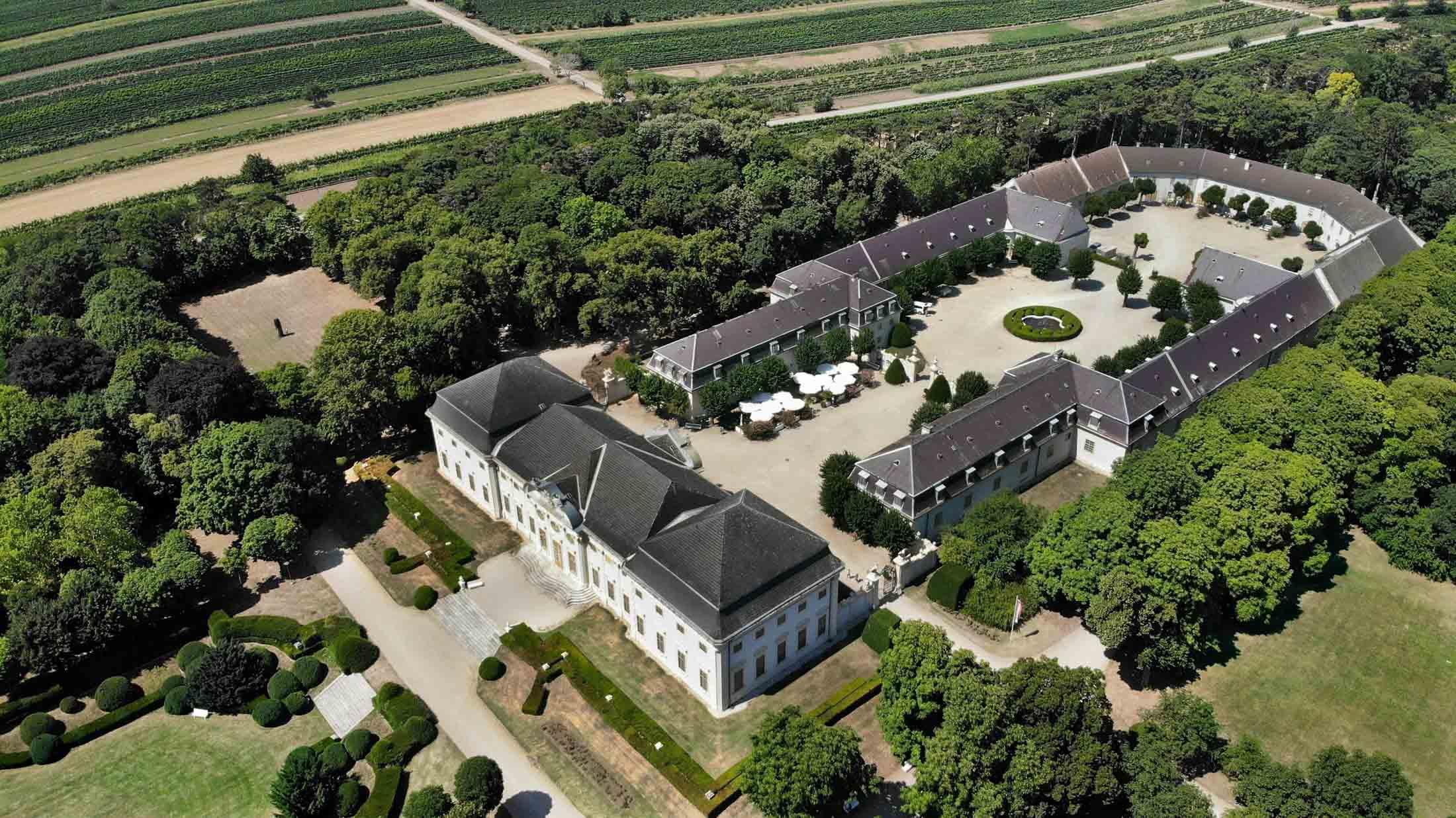 "Trouwlocatie ""Knappenstöckl | Schloss Halbturn"""