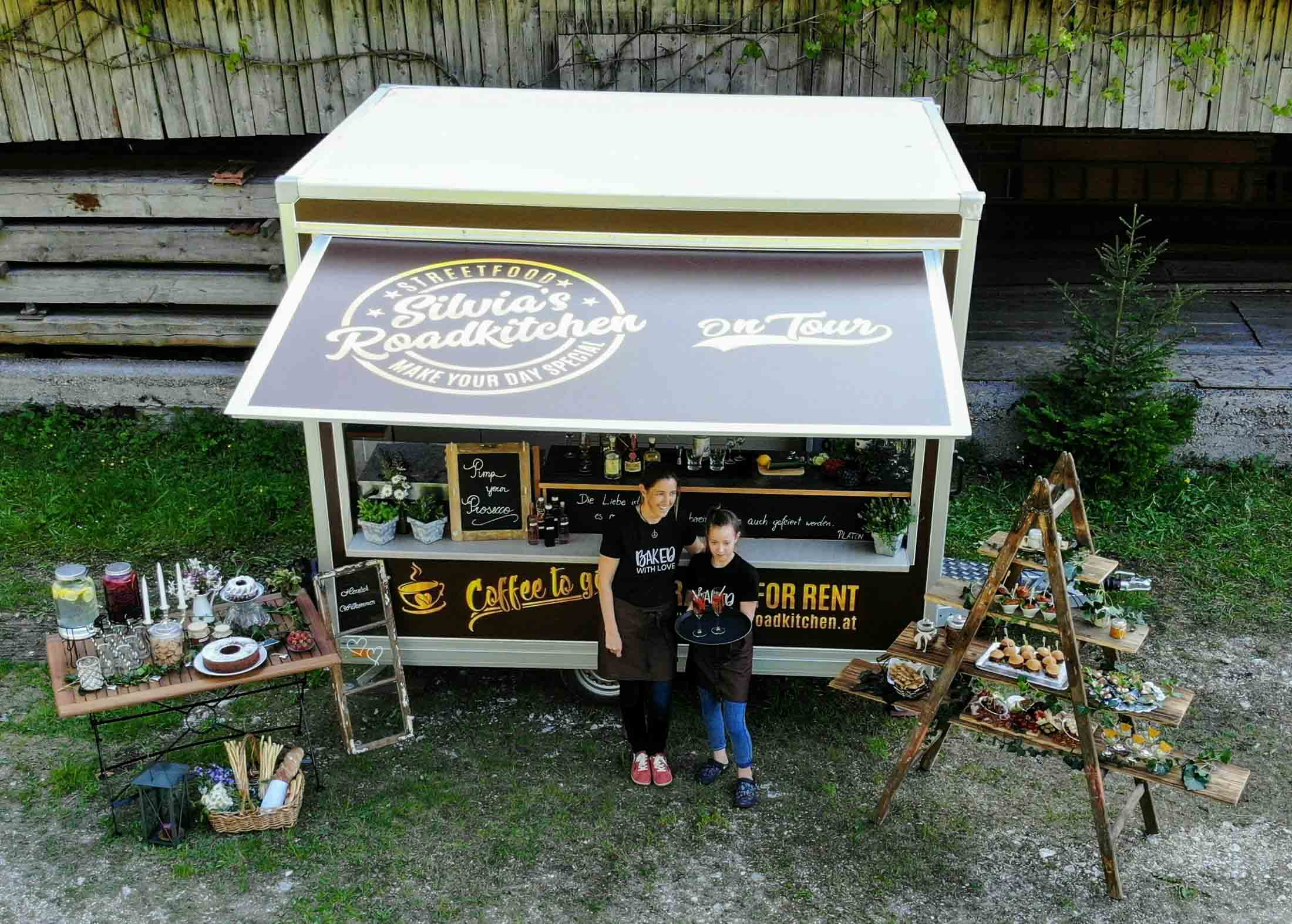 """Camion di cibo """"Silvia's Roadkitchen"""""""