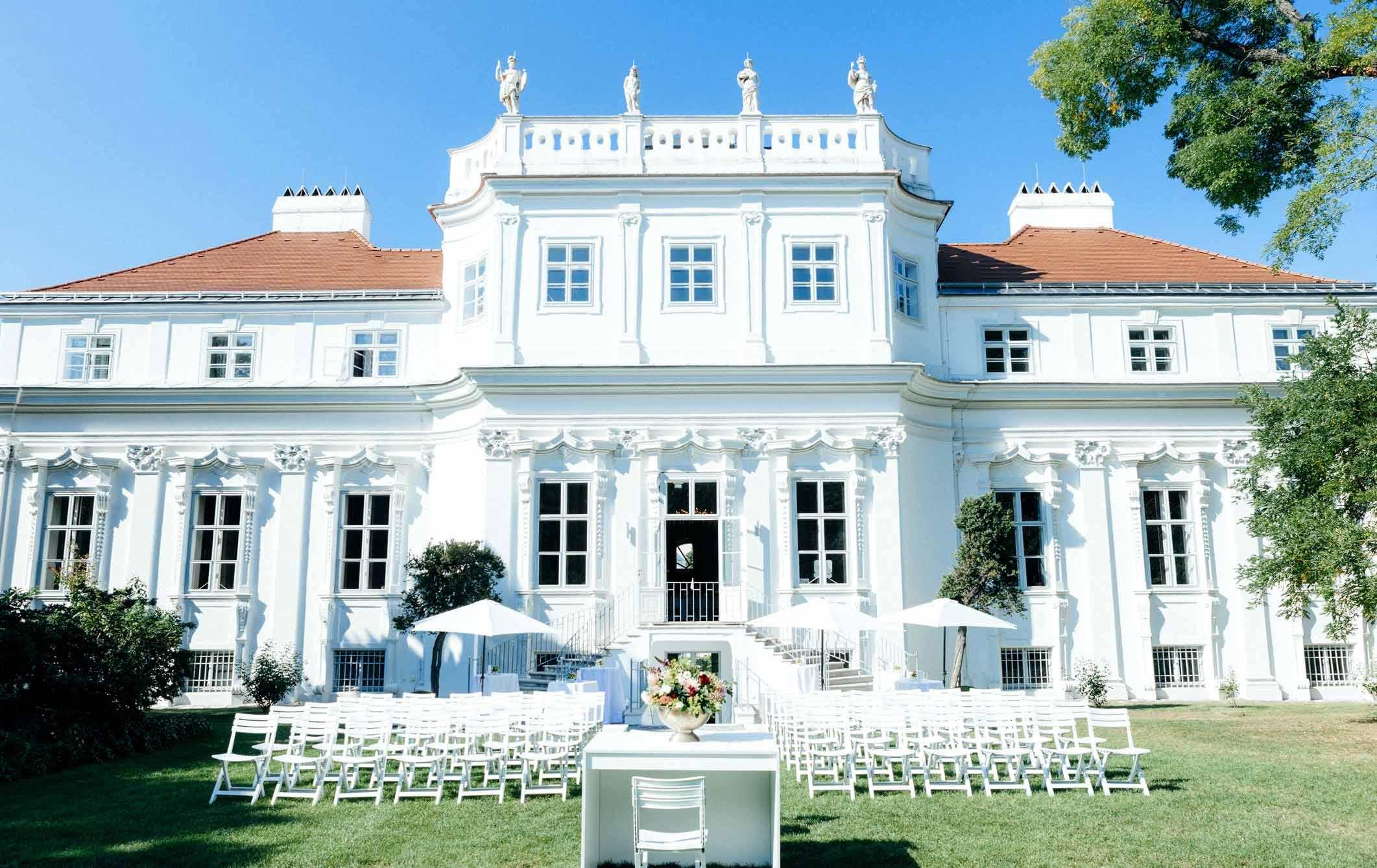 """Trouwlocatie """"Palais Schönburg"""""""