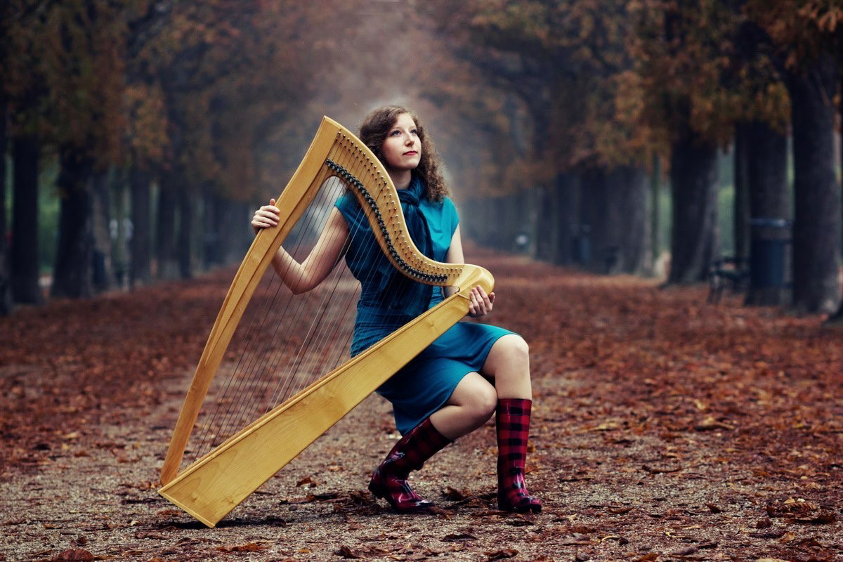 "Harfenistin ""Your Event Harpist"""