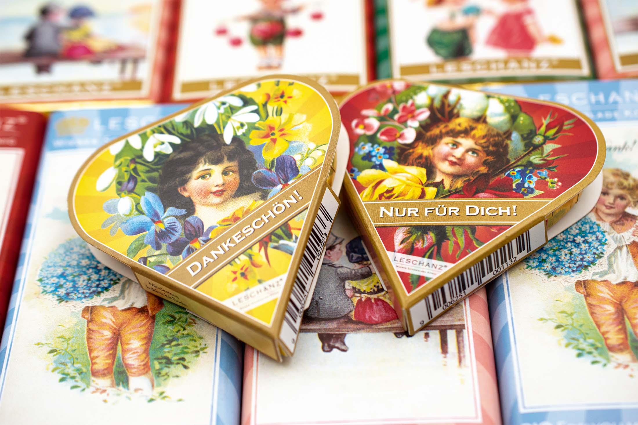 """Hochzeitsschokolade & mehr """"Leschanz"""""""
