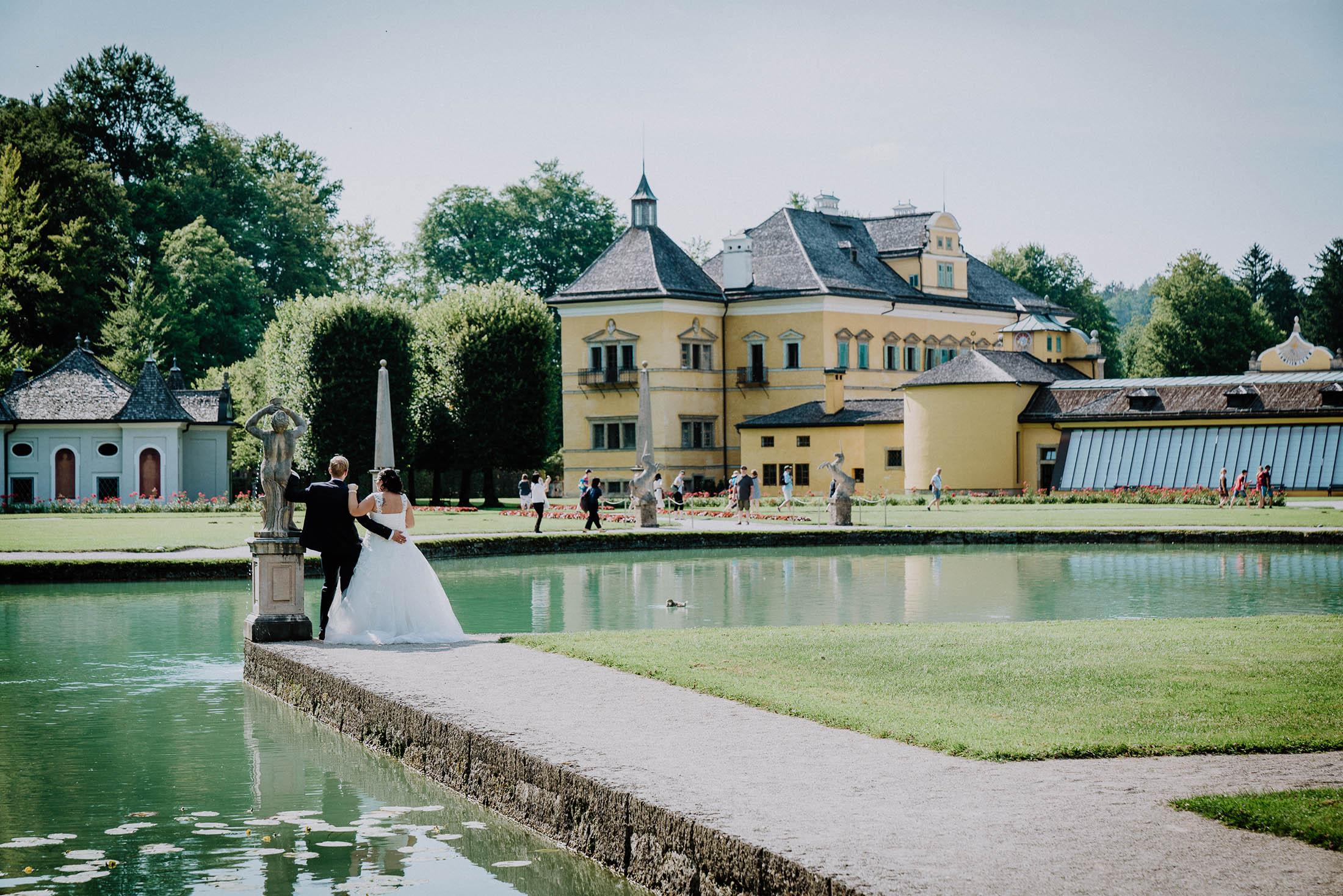 """Trouwlocatie """"Gasthaus zu Schloss Hellbrunn"""""""