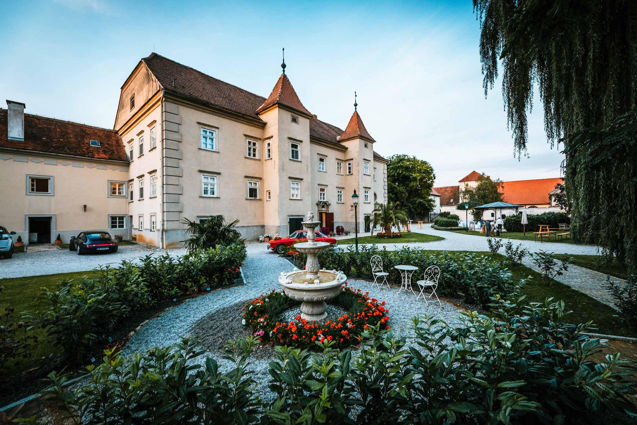 """Trouwlocatie """"Schloss Gurhof"""""""