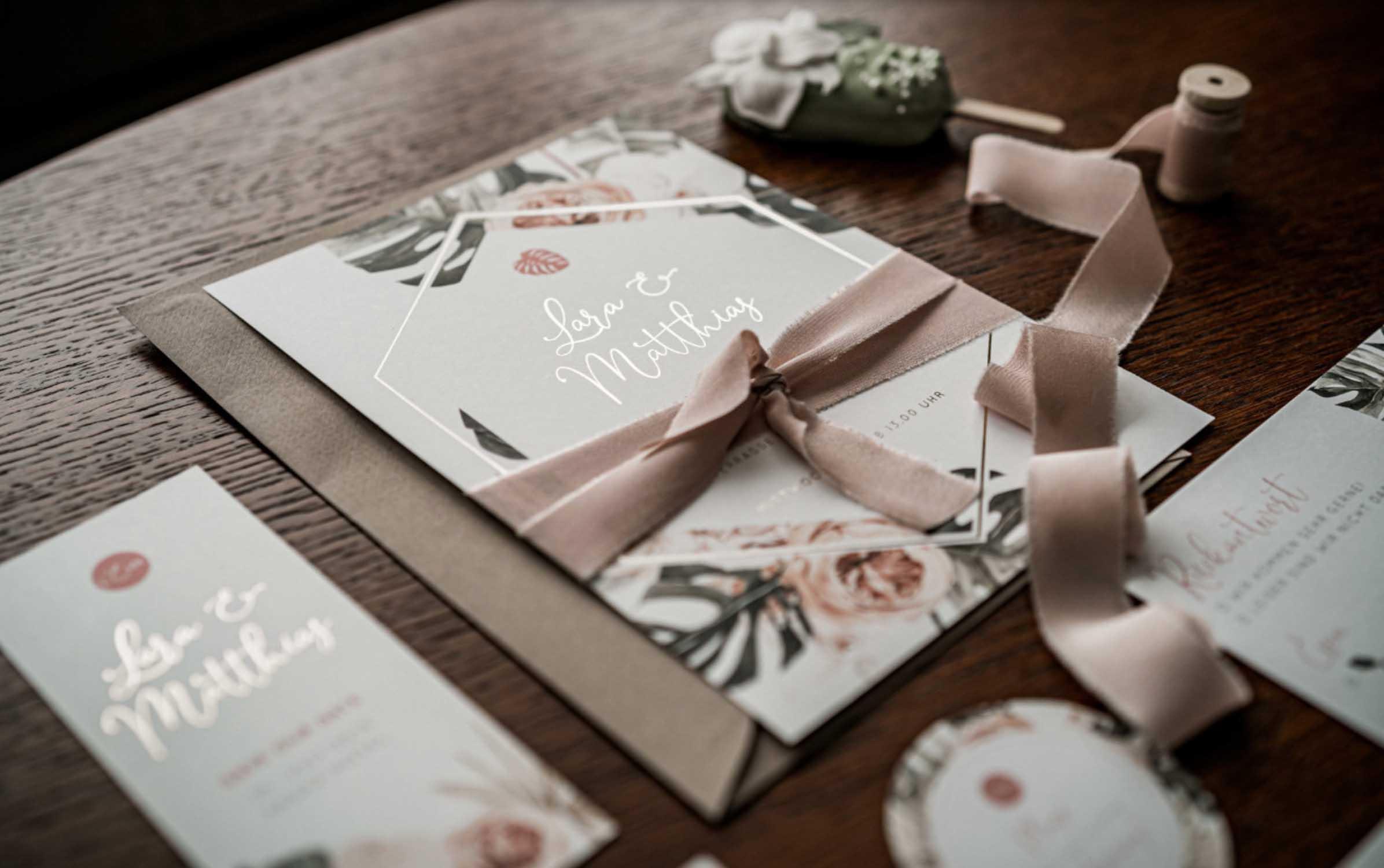 Herzdruck   Hochzeitspapeterie