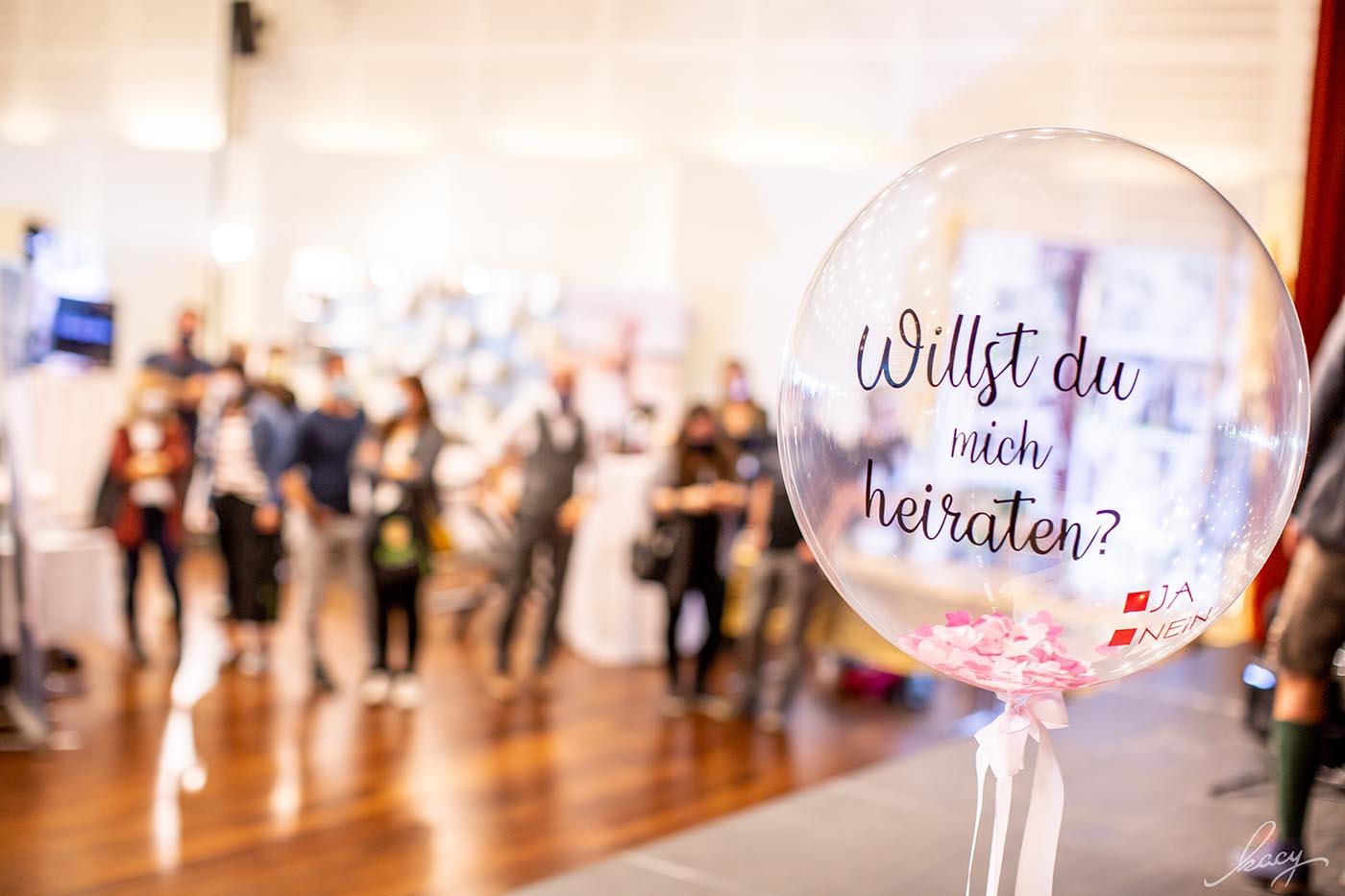 Herzmomente | Ballons für eure Hochzeit