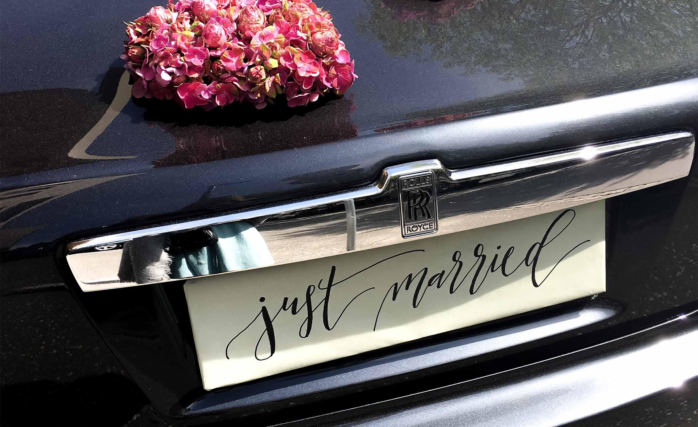Hochzeits-Fahrzeuge von Auto Linher