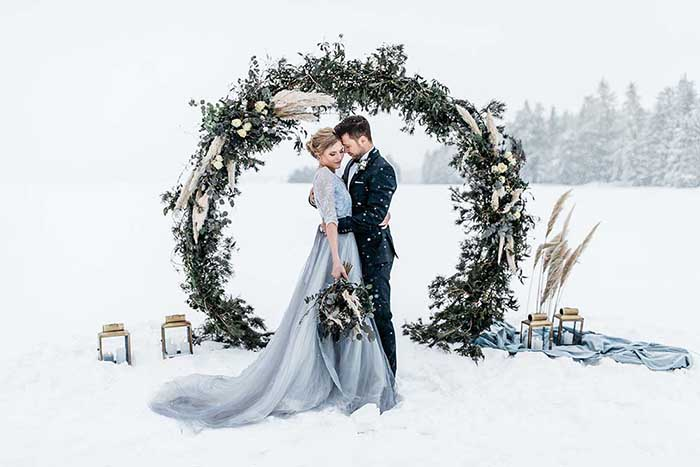 10 good reasons for a wedding in winter