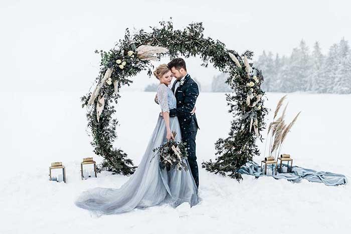 10 goede redenen voor een bruiloft in de winter