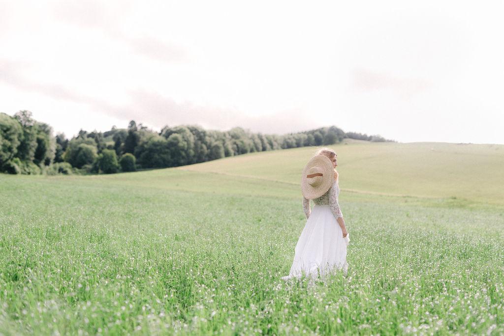 Sposa d'estate - Ispirazione nella natura libera