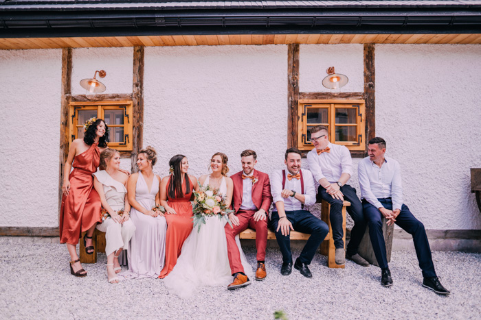 Copper is the new Gold: Hochzeit beim Kupferwirt