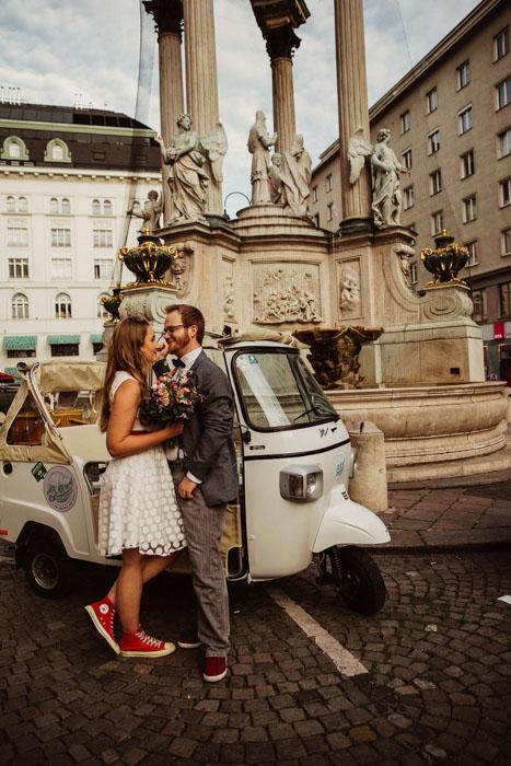 Hochzeits-Streifzug durch die Wiener City