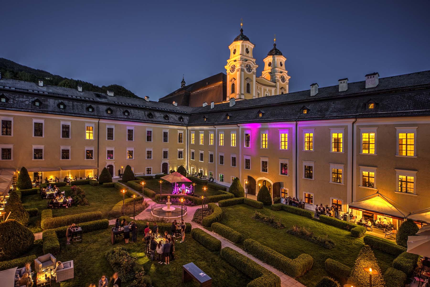 "Trouwlocatie ""Schloss Mondsee"""