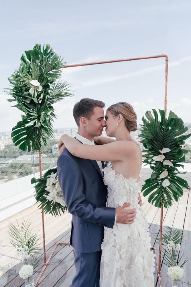 Urban Jungle: Hochzeit über den Dächern Wiens